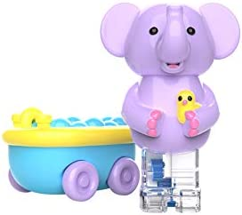 Educational Insights Zoomigos Elephant with Bath Tub Zoomer Toddler Toy
