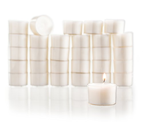 Stock Your Home White Candles Tea Light (Set of 30)...