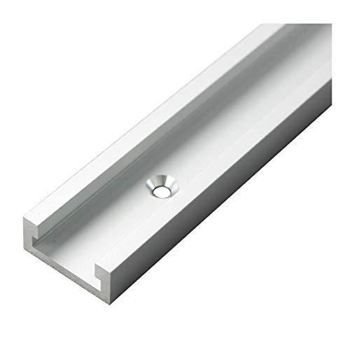 X-BAOFU, 1 x T-förmige Schiene aus Aluminiumlegierung, Typ 30, Nut, 30–80 cm, schräge Schiene und geneigte Gleitstange, Holzbearbeitungswerkzeuge (Farbe: 800 mm).