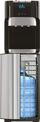 Brio bottom loading water cooler water dispenser – essential series - 3 temperature settings - hot, cold & cool water - ul/energy star approved