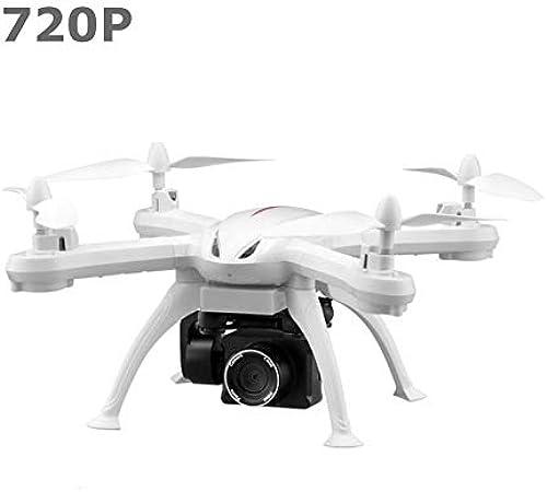 X6S Drone WiFi FPV Drone 720P Pression de vol Hover RC Hélicoptère 3 Batterie Blanc