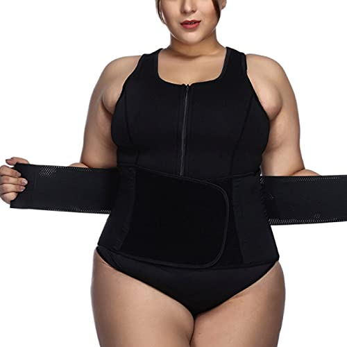 FLY FLQ Ropa Faja Reductora Adelgazante Lencería Moldeadora Shapewear Waist Trainer Body Shaper Corsé de Abdomen Mujer,XL