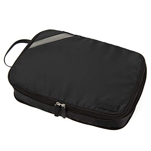 Travelpro Essentials-Expandable Packing Cubes, Black, Large