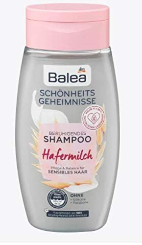 Shampoo mit Hafermilch | Pflege und Balance für sensibles Haar | Sorgt für gepflegte Haare und eine entspannte Kopfhaut | Ohne Silikone und Parabene | 250 ml