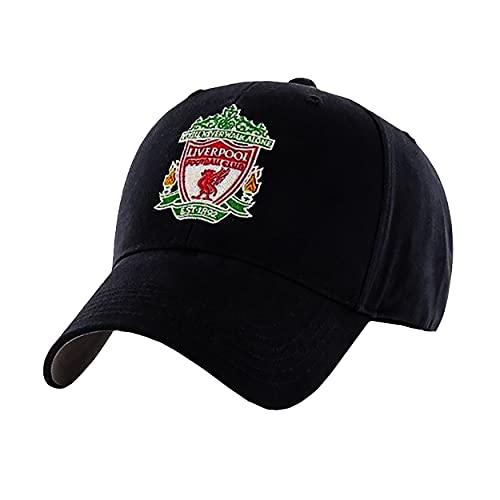 Gorra de escudo del Liverpool FC, color negro