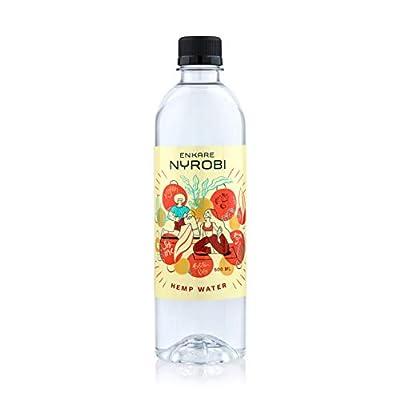 ENKARE NYROBI Premium Hemp Infused Water | 250MG Hemp Seed Oil | Omega 3 & 6 | Non-GMO & Gluten Free | 16.9 fl oz/500ML [12 Pack] from