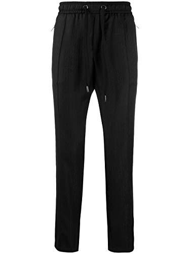 Luxury Fashion | Dolce E Gabbana Uomo GYACETFJ2BMN0000 Nero Lana Pantaloni | Stagione Outlet