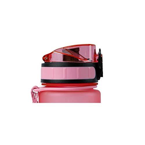 schmatzfatz Ersatzdeckel für Trinkflaschen, passend für 350ml & 500ml Größen (Rosa)