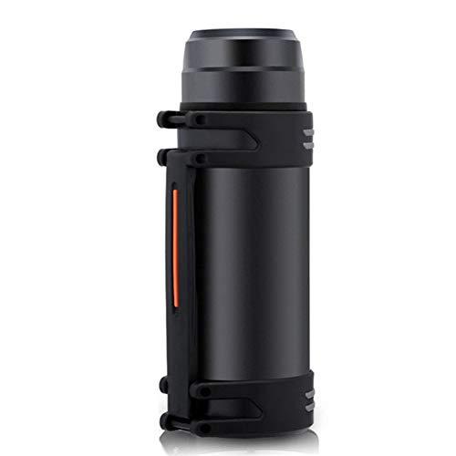 BWBWD Thermoskanne 2000 ML Edelstahl Thermoskanne Mit Großer Kapazität Wasserkocher Isolierflasche Isolierflasche mit Tasse Wasser Reisegetränk Wasserkocher