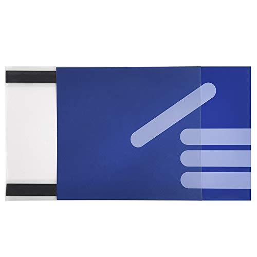 5 x Magnettasche A4 Sichttasche Einstecktasche Infotasche Blatthalter magnetisch