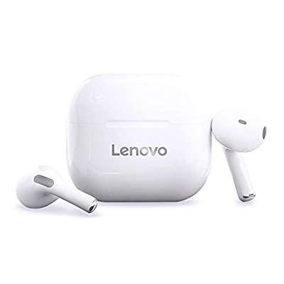 LivePods LP40 TWS Semi-in-Ear Earphones BT 5.0 Headphones True Wireless Earbuds with Touch Control Hands-FreeCall Stereo Sound Noise Canceling Waterproof Binaural Design HeadsetswithMIC from Kiaya