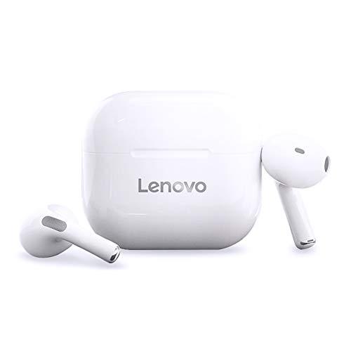 LivePods LP40 TWS Auricolari semi-in-ear Cuffie BT 5.0 Veri auricolari wireless con controllo tattile Chiamata in vivavoce Suono stereo Cancellazione del rumore Cuffie con design biauricolare imperme