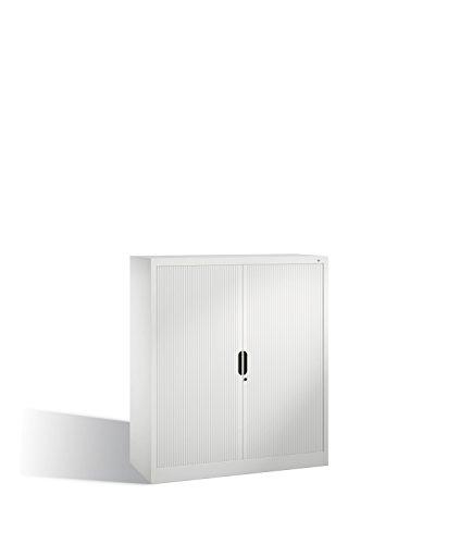 Preisvergleich Produktbild Akten-Sideboard Omnispace mit Rollladen,  3 Ordnerhöhen,  H1345xB1200xT420mm