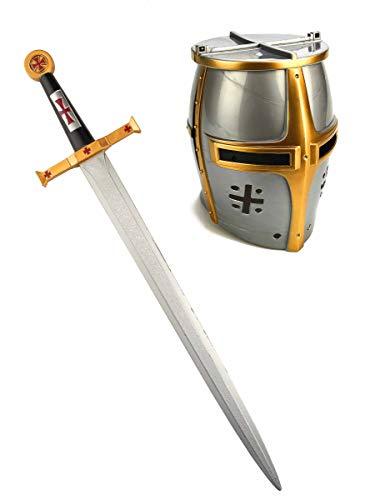 Generique - Ritter Schwert und Helm für Kinder