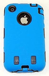 Body Armor for iPhone 3G / 3GS - Blue & Black