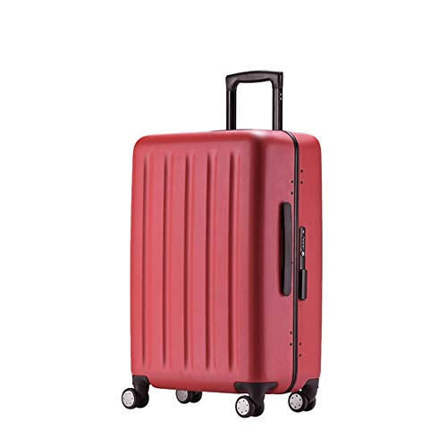 Suitcase Rotating Travel Trolley Li Box With TSA Lock Hard Shell Lightweight Portable Column Silent Rotator Multi-directional Wheel Aircraft Boarding Travel Luggage Case