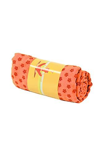PowerLife® Yogatuch mit Noppen, rutschfest, Yogamattenauflage, Yoga Grip Towel, Yogatuch mit Antirutsch-Noppen, sehr gut für Hot Yoga
