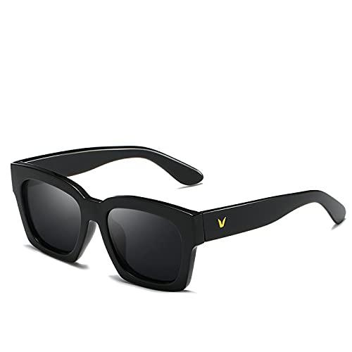 ZHAO Gafas De Sol Retro, Gafas De Sol Polarizadas, Gafas De Viaje, Gafas De Piloto, Protector Solar
