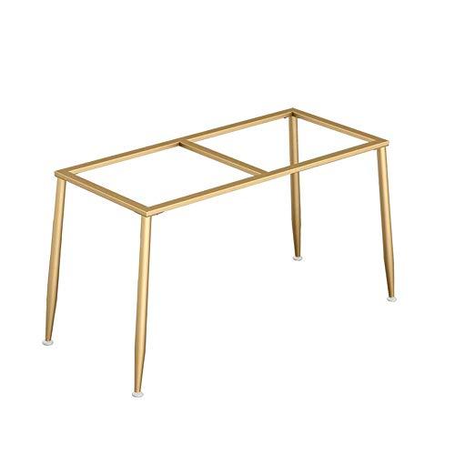 WaiMin Pie de soporte de muebles Patas de la mesa de hierro dorado soporte patas de la mesa de mármol escritorio de la computadora patas del escritorio patas de la mesa de comedor personalizados
