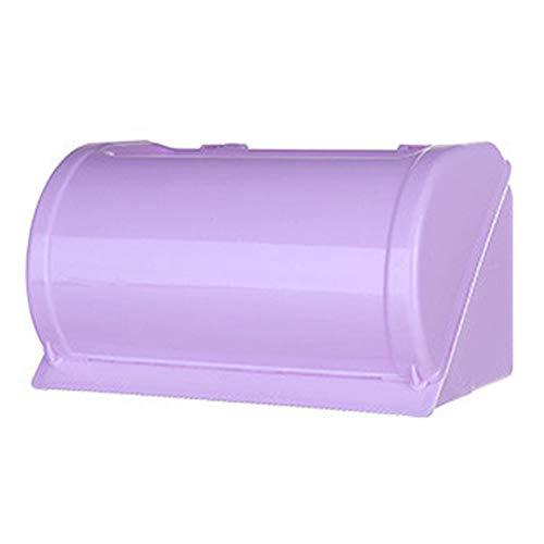 Wifehelper Multifunctionele doos van zijdepapier met zelfklevende waterdichte PP-accessoires voor praktisch toilet in de badkamer