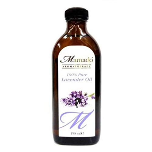 Mamado, olio di lavanda puro al 100%, per pelle e capelli, 150 ml...