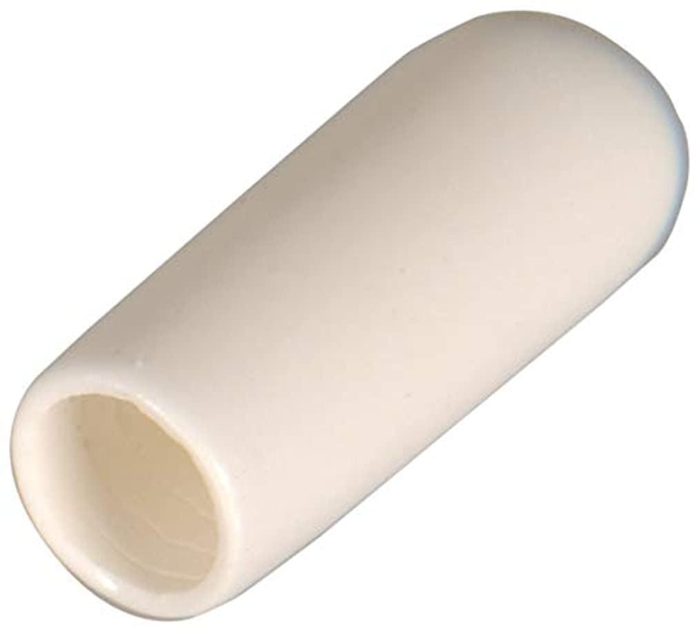White Vinyl Thread Protector (Fits 1/4