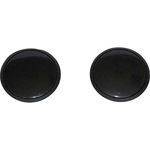 Tapa decorativa con tornillo de 32 mm, negra, tapa protectora, universal