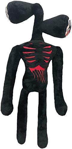 Ginkago Plush Doll Toys Party Favor Siren Double Heads Monster Plüshtier Spielzeug (Black)