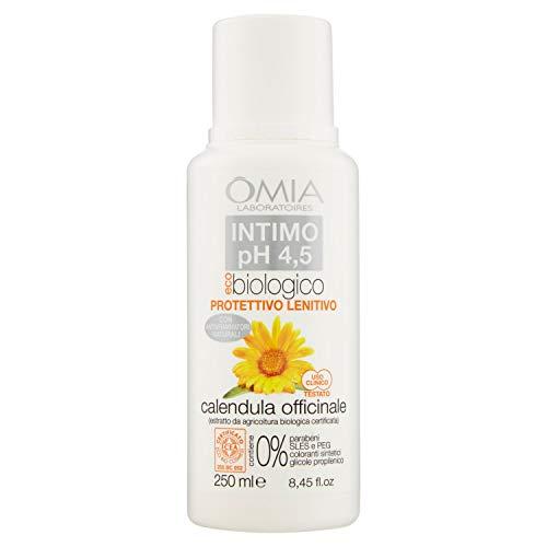 Omia Sapone Intimo Eco Bio Ph 4.5 Calendula Officinale, Detergente Intimo con Azione Rinfrescante e...