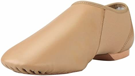 ARCLIBER Adults Brown Leather Jazz Dance Shoe 4M US product image