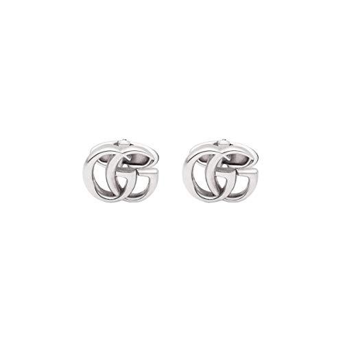 Gucci Manschettenknöpfe Marmont Doppel G Silber - 17 mm