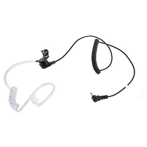 Ecloud Shop 2.5mm Security Headset Ohrhörer + Schallschlauch für Ham Radio