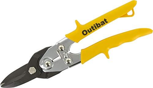 Outibat - Cisaille à tole type aviation / Jaune - Droite