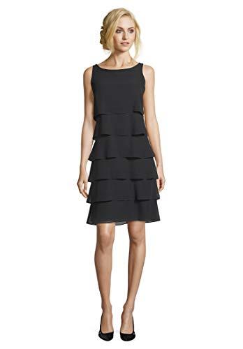 Vera Mont Damen 0063/4825 Kleid, Schwarz (Jet Black 9042), (Herstellergröße: 44)