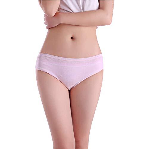 KICCOLY Wöchnerinnen Slips,Wochenbett Panties mit Bein-Ansatz, Seamless Damen Pagen Krankenhaus Slips für Einweg Wöchnerinnen Binden nach der Geburt
