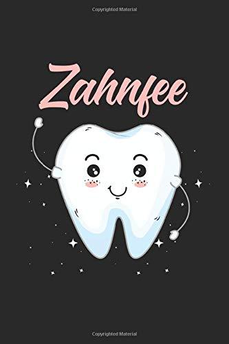 Zahnfee: Kariertes A5 Notizbuch oder Heft für Schüler, Studenten und Erwachsene (Logos und Designs, Band 1880)
