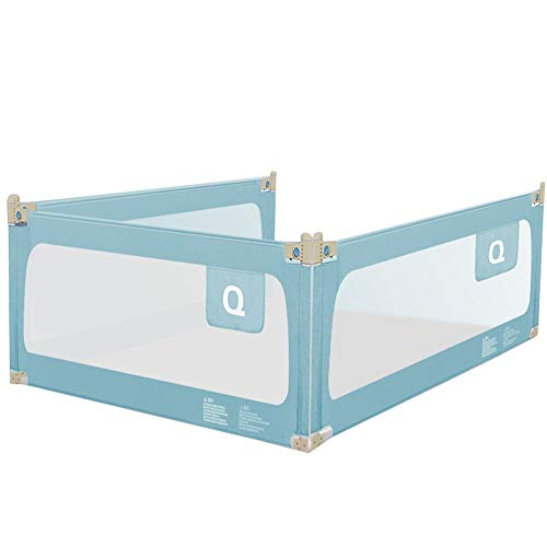 Find Bargain Bed Rail, Crib Fence Child Anti-Falling Bed Side Baffle Breathable and Anti-Collision H...