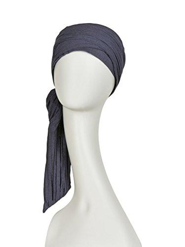 Christine Headwear - Katoen Turban - Joli - donkergrijs (1015-311)