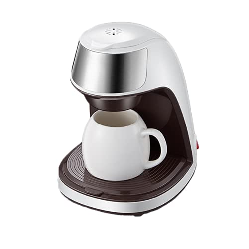 DKBE Máquina de café Americana, diseño Compacto, Fabricante de café de Goteo automático Brew Tea Tea Polvo de café Libre Copa de café de cerámica