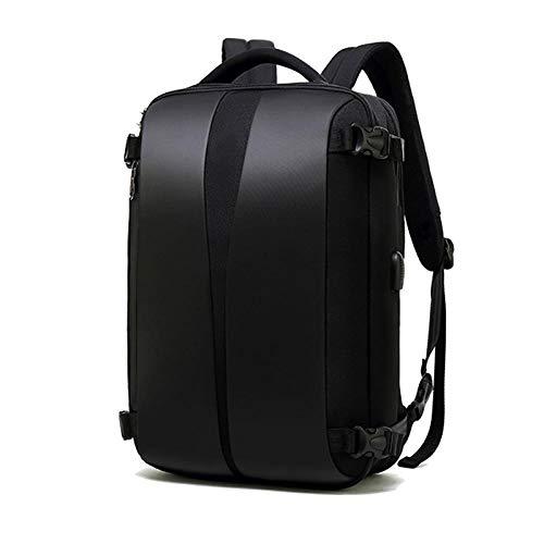 Rucksack Business Anti Theft Rucksack 17 Zoll Laptop Bagpack Frauen Männer Handtasche Rucksäcke Reise Wasserdicht USB Ladegerät Rucksack Schwarz