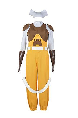 Disfraz de Star Wars Rebels Cosplay Hera Syndulla - Amarillo - Mujer S