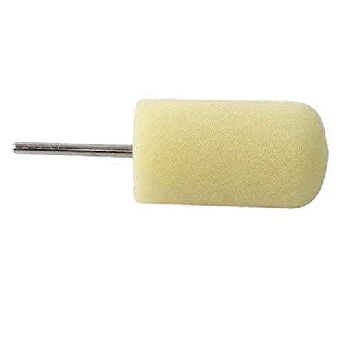 NKJH Los neumáticos del Coche 10pcs pulidor Rueda de Herramientas de la máquina pulidora en Forma de Cono Cubo de la Rueda de Disco (Color : Gold)