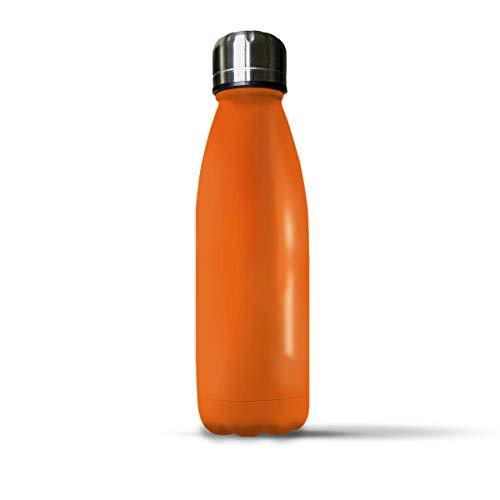 G GADGET MAKERS Botella térmica de acero inoxidable, botella aislante para agua,...