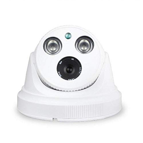 L&WB Sistema de cámaras de Seguridad para el hogar para su teléfono Inteligente con detección de Movimiento, 1200 TVL, visión Nocturna, 1/4 CMOS,8mm