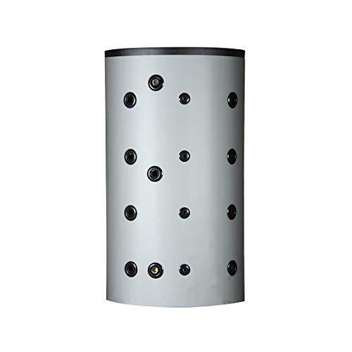 Hygienespeicher 2 Wärmetauscher mit 100mm PU-Hartschaum Isolierung (600 Liter)