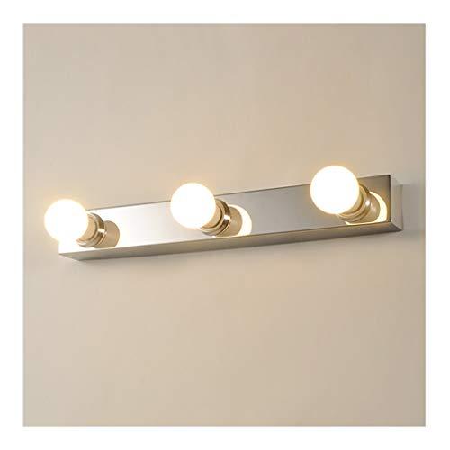 William 337 Hollywood Mirror Light Wandlamp Spiegelglas Roestvrij staal E27 * 3/4/5 koppen kaptafel garderobekast [energieklasse A ]