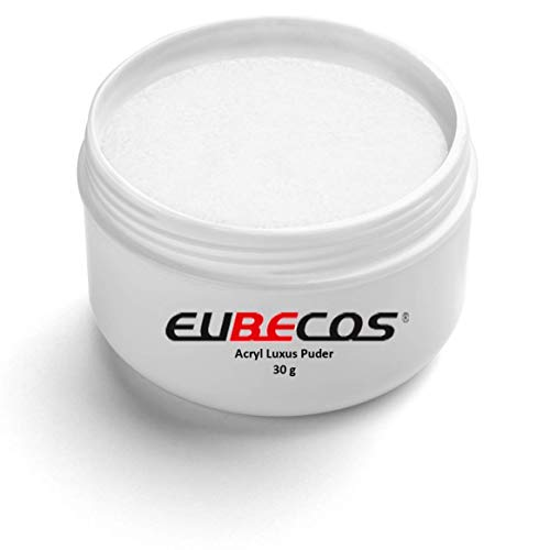 EuBeCos Acryl Luxus Puder - 30 g - 03 weiss in STUDIO QUALITÄT - MADE IN GERMANY
