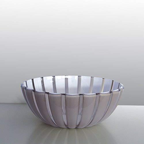 guzzini Schale GRACE grau-weiß, D ca. 30 cm