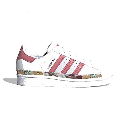 adidas Superstar J, Deportivas, FTWR White Hazy Rose Hazy-Zapatillas, 36 2/3 EU
