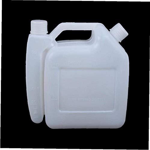 SBDLXY Botella mezcladora de Combustible de Gasolina de Aceite de 2 Tiempos Contenedor de Tanque de 2 l 25: 1 50: 1 para Motosierra Strimmer Nuevo